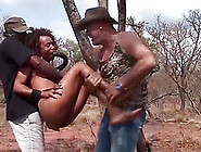 Wild Orgy With A Hot African Babe At My Safari Sex Tour