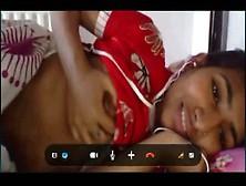 Indian Big Boobs Teen Skype Chat Displaying Boobs & Pussy