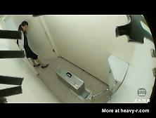 Toilet Spy At Train Station