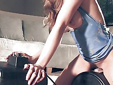 Hot Sybian Orgasm,  This Milf Can Get Enough