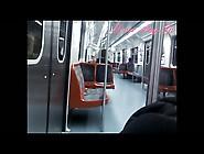Cumming On The Train