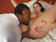 The Busty Gianna Michaels Doing Her Best In An Intense Interraci