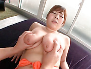 Busty Ran Niiyama Gets Her Monster Melons Squeezed