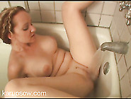 Bath Water Makes Her Sexy Milf Pussy Cum