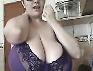 The Bbw-Goddess - Alicia In Home