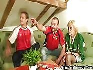 Slutty Grandma Loves Soccer