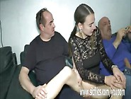 Extreme Teen Double Fisted And Fucked By Two Perverts