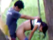 Novinha Safada Foi Flagrada Transando No Quintal De Casa