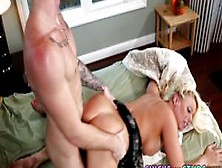 Blonde Babe Gets Pounded