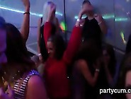 Flirty Girls Get Fully Insane And Naked At Hardcore Party