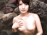 Freaky Bf Pleases Hairy Cunt Of His Titless Bitch Saki Kobashi W