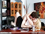 Romantic Sex At The Office
