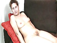 47-Year Old Shy Milf Inge Spreads Her Legs To Show Her Hairy Pus