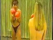 Cal Supreme Lisa Marie Vs Robin Topless Boxing
