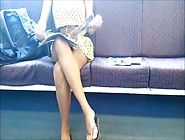 On The Educate Upskirt Down Blouse And Feet