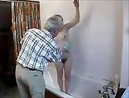 Grandpa Fucks Redhead Hairy Teen (Camaster)