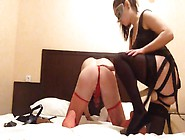 Homemade Sissy Strapon Fucked By Mistress