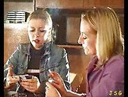 Mother And Daughter Heavy Smoking 2