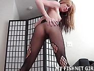 Cover My Fishnets In Your Hot Cum Joi