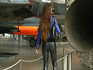 German Leather Lady 11