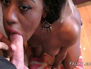 Interracial Deep Throat Casting