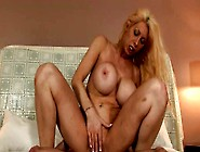Tatted Blonde Chica Is Nailed Hard From Behind