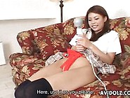 Sexy Jap Teen Plays With Her Toy