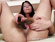 Hairy Milf Vanessa Fucks A Toy