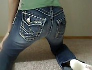 Girl Sexy Jean Farts