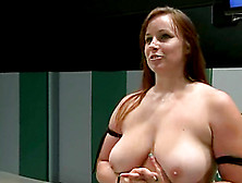 Darling Rides A Dildo And Gets Toyed By Bella Rossi