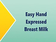Breast Milk Expression Using Gentle Hand Massage    Daily Breast