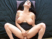 Punks larkin love and brittany lynn fucked by a black cock - 3 4