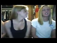 Blonde Roommates Flashing On Chatroulette