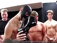 African Beauty Disgraced In Gang Bang