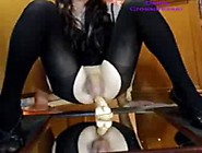 Amateur Crossdresser Deibly Milking Without Hands