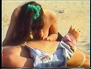 Group Sex On A Windy Beach