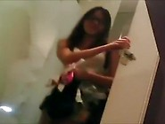 Hidden Camera In Fitting Room Caught Malay Girl Dressing