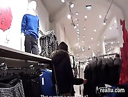 Attractive Czech Teenie Was Teased In The Mall And Penetrated In