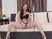 This Super Luscious Redhead With Pierced Nipples Loves Anal Sex