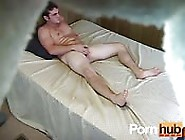 Sexy Weel-Fed Straight Guy Caught On Hidden Cam
