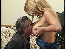 Stocked Bosomy Babe Gets Deep Vaginal Massage And Cunnilingus