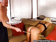 Spanking With Diffrent Paddles And Toys