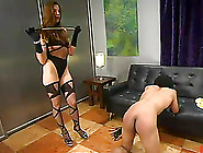 Franco Gets His Ass Brutally Whipped By Kym Wilde In Bdsm Video