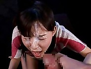 Japanese Babes Are Getting Their Faces Covered With Cum After Do