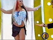 Upskirt No Panties Alejandra Pradon On Tv Show