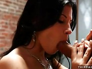 Porn Babe Rebecca Linares Eagerly Takes A Long Jock In That Guyr