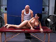 Erotic Massage Arouses Diamond Kitty For Big Dick Anal Sex