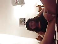 Arab Girl Samira Using Spray As Dildo