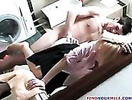 Horny Boy Fucks His Mom In The Bathroom