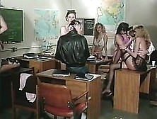 Busty Lesbian Babes Get Fucked In An Insanely Hot Retro Orgy